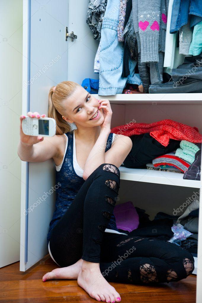 Teen selfie List of