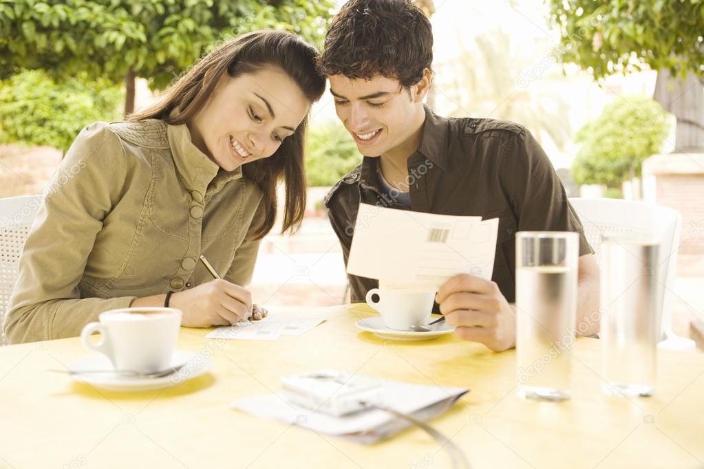 Dating bild vykort