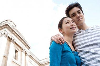 Japanese tourist couple
