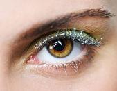 Young woman eye