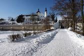 Fotografie renesanční zámek v městě pardubice