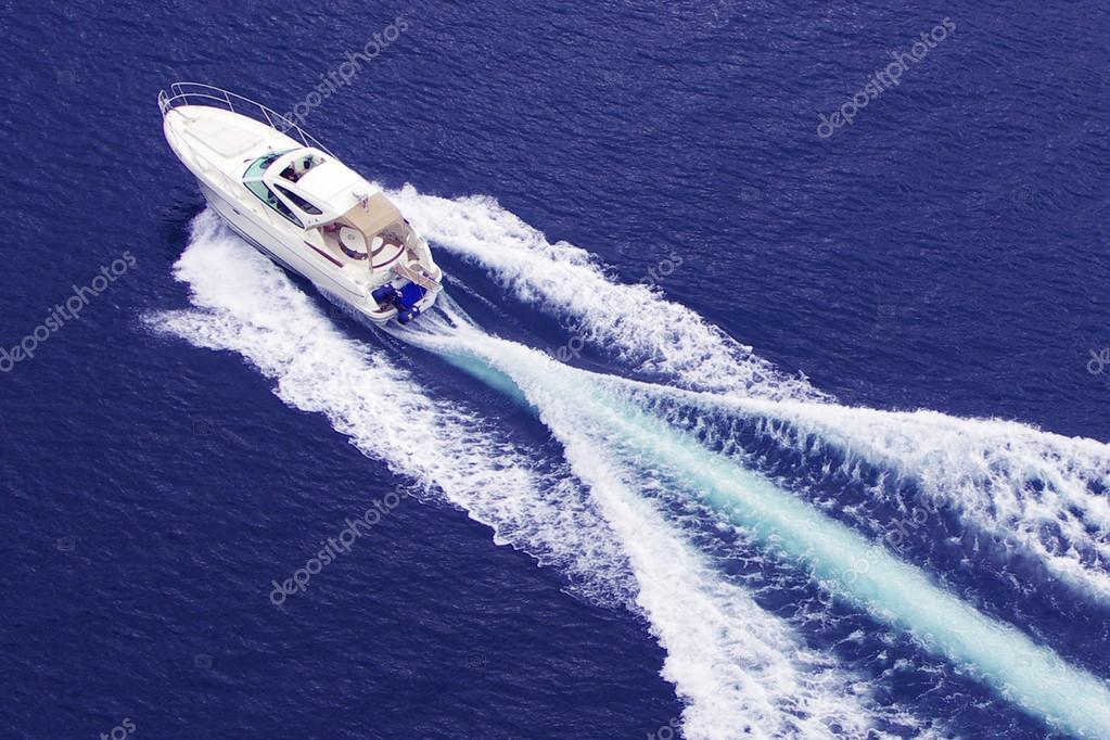 fast motor boat