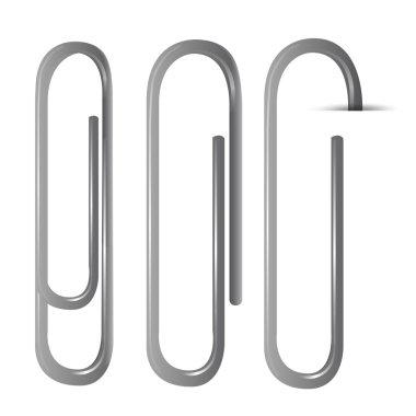 set of clips. Vector design.
