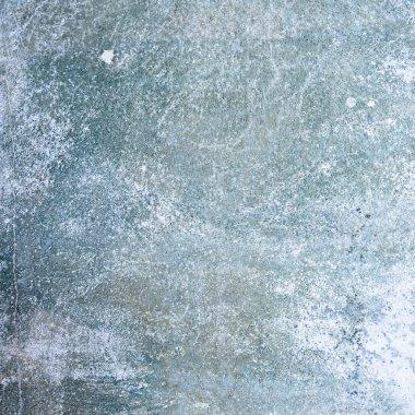 Grunge blue wall. Vintage texture.