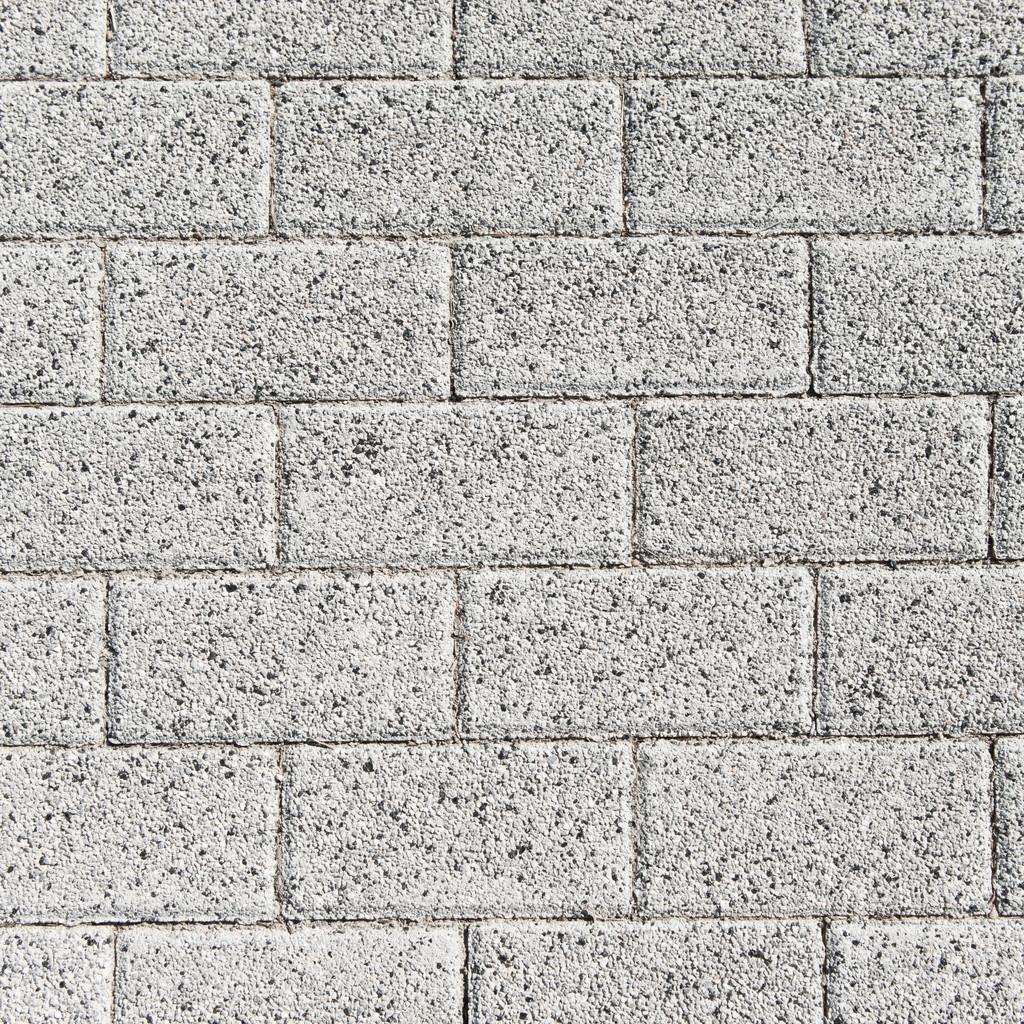 Fliesen textur grau  Rechteck Pflaster Fliesen. Textur-Hintergrund — Stockfoto #35430473