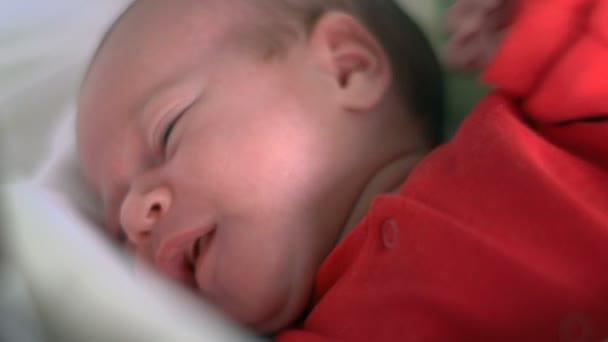 Infant - baby girl sleeping