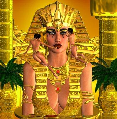 Face Of The Pharaoh Queen