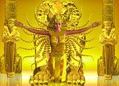 Zlatý egyptský chrám