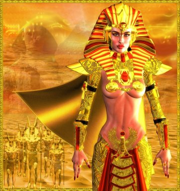 Egyptian Warrior Queen
