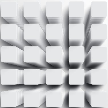 Squares background for advertising
