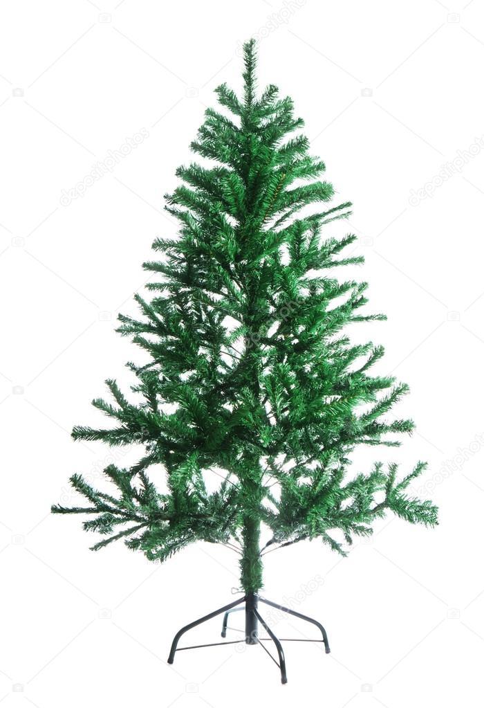 el rbol de Navidad artificial pelado Foto de stock wabeno 19966411