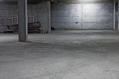 Underground garage construction