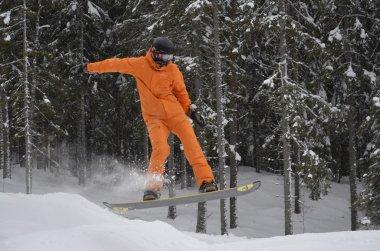Snowboarding, Michael Jackson style.