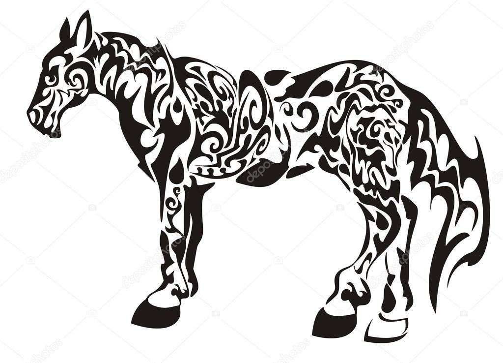 Dark Horse Stock Vector C Lion21 26259057