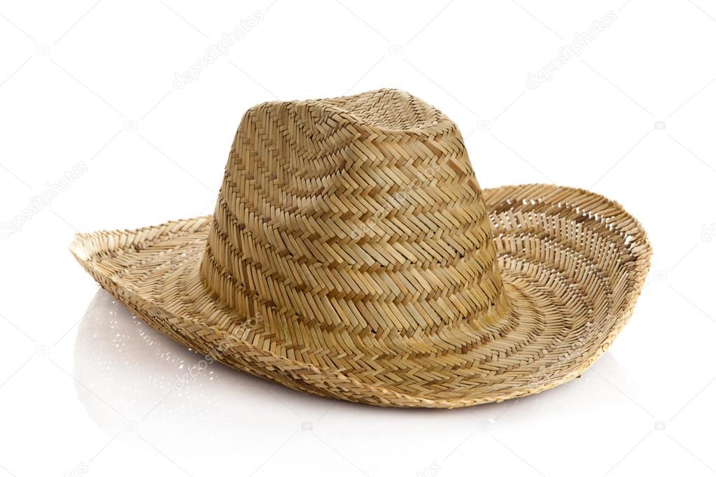 c6e15973ff4 Mexický klobouk izolovaných na bílém pozadí — Stock Fotografie ...
