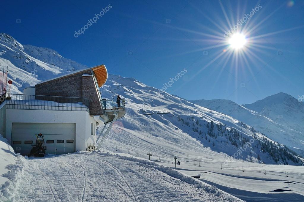 Winter landscape in the Austian Alps