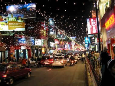 New Year's Eve on Brigade Road