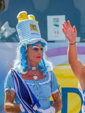 Bavarian Drag Queen at Christopher Street Day