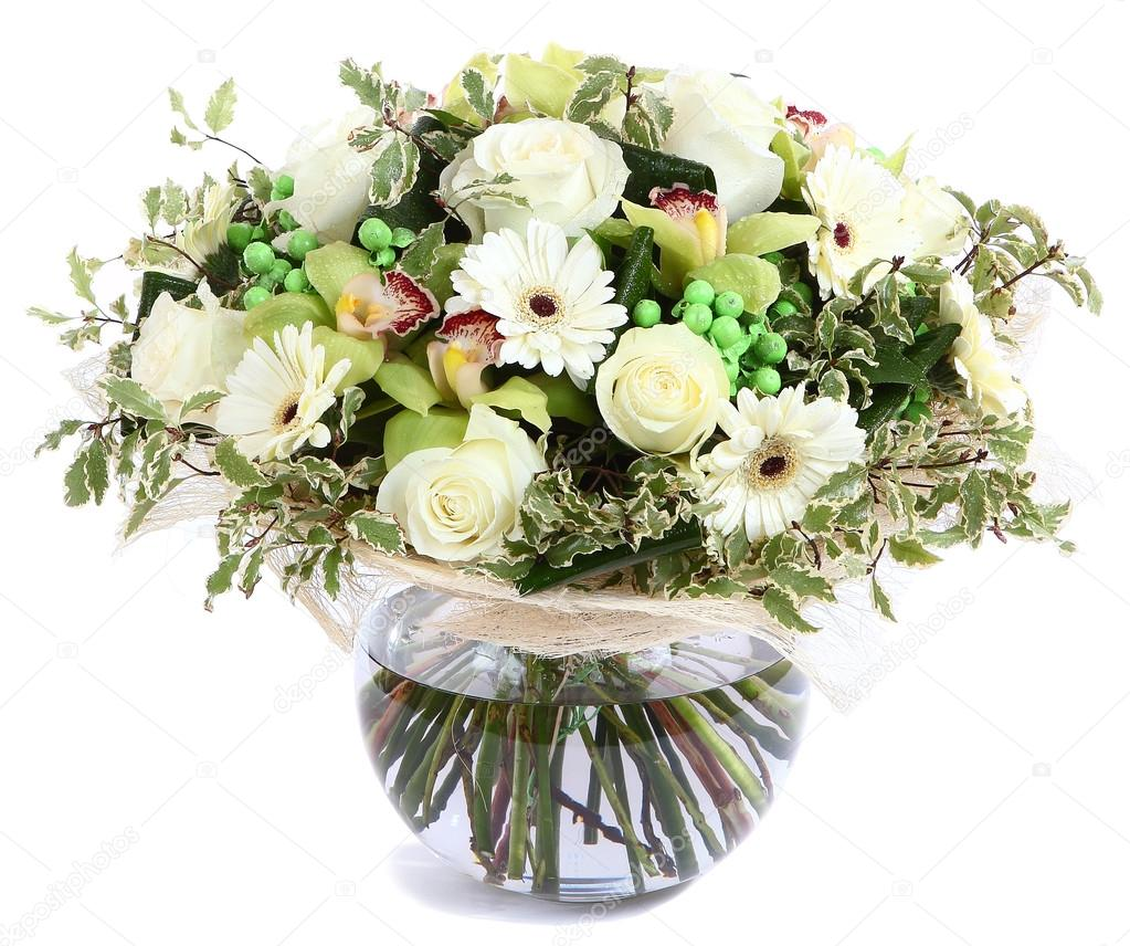 Fondo Ramos De Flores Con Transparente Composicion Floral En