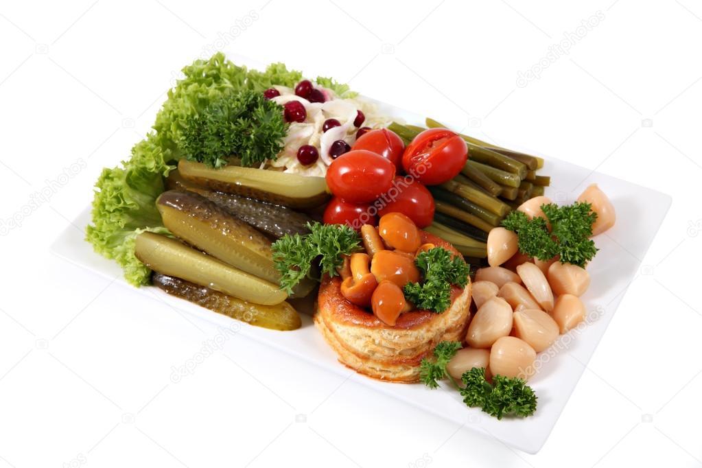 овощи маринованные ассорти