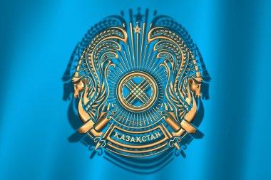 Сoat of arms of Kazakhstan