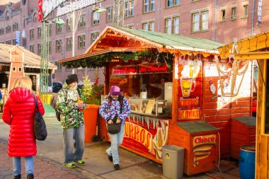 Christmas Market in Amsterdam City Center