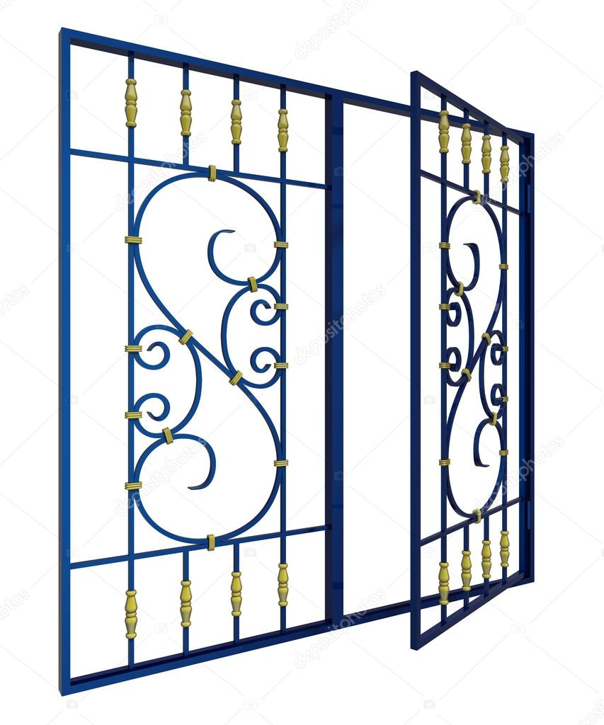 Favorit grille de fenêtre en fer forgé — Photo #21082339 AY55