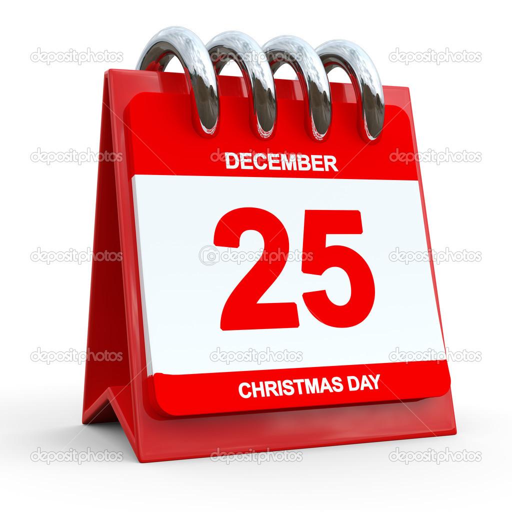 12 月 25 日カレンダー — ストッ...
