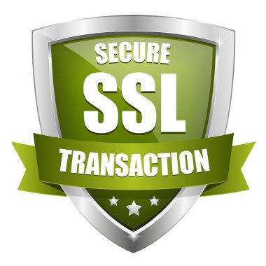 Green secure transaction button