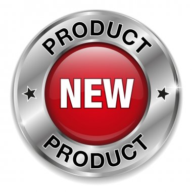 Big red new product button