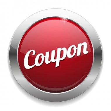 Big red coupon button