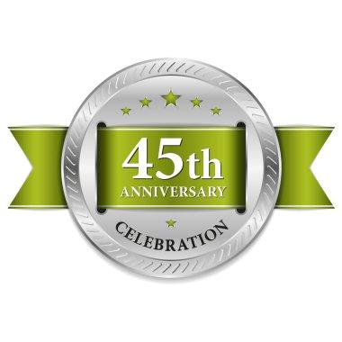 45 year anniversary seal