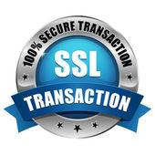 Kék Ssl biztonságos tranzakció gomb