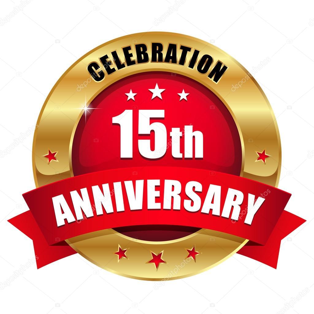 15 Year Anniversary Stock Vectors Royalty Free 15 Year Anniversary
