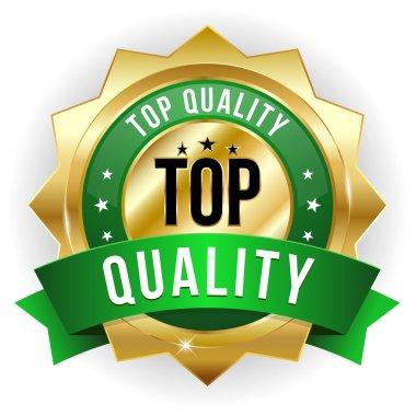 Top quality badge