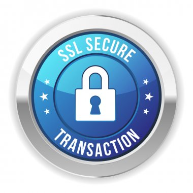 Secure transaction button