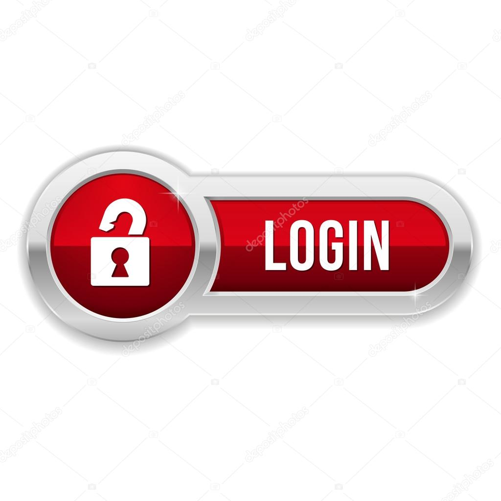 how to create login button in html
