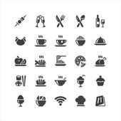 Fotografia ristorante icone ser