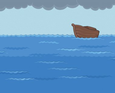 Ark in the Rainy Sea