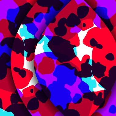Abstract textures illustration