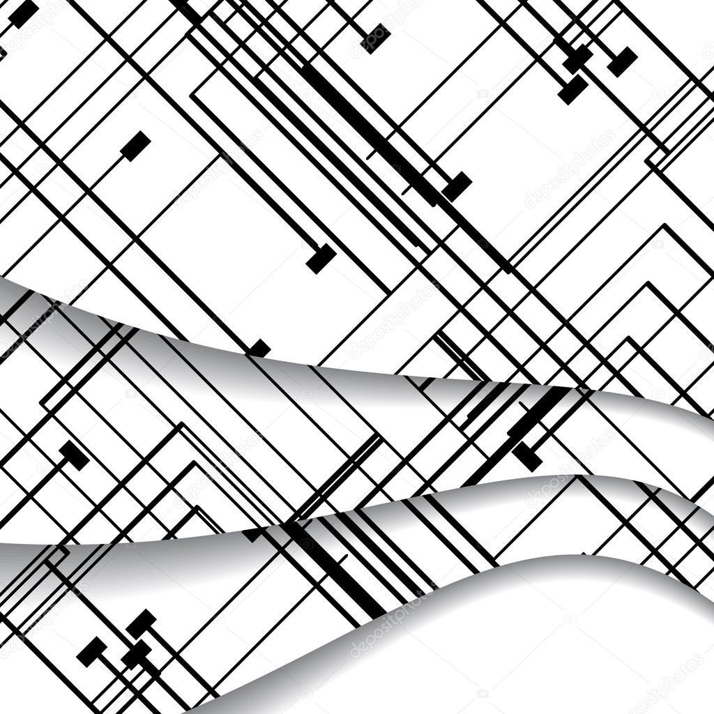 Circuit Board Illustration Stock Vector Llebbid 44135651