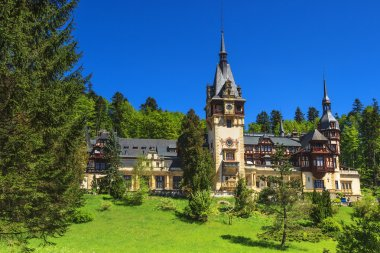 Famous royal Peles castle,Sinaia,Romania