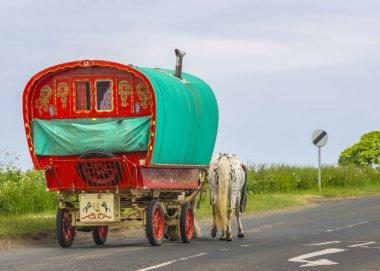 Old Traditional Gypsy Caravan