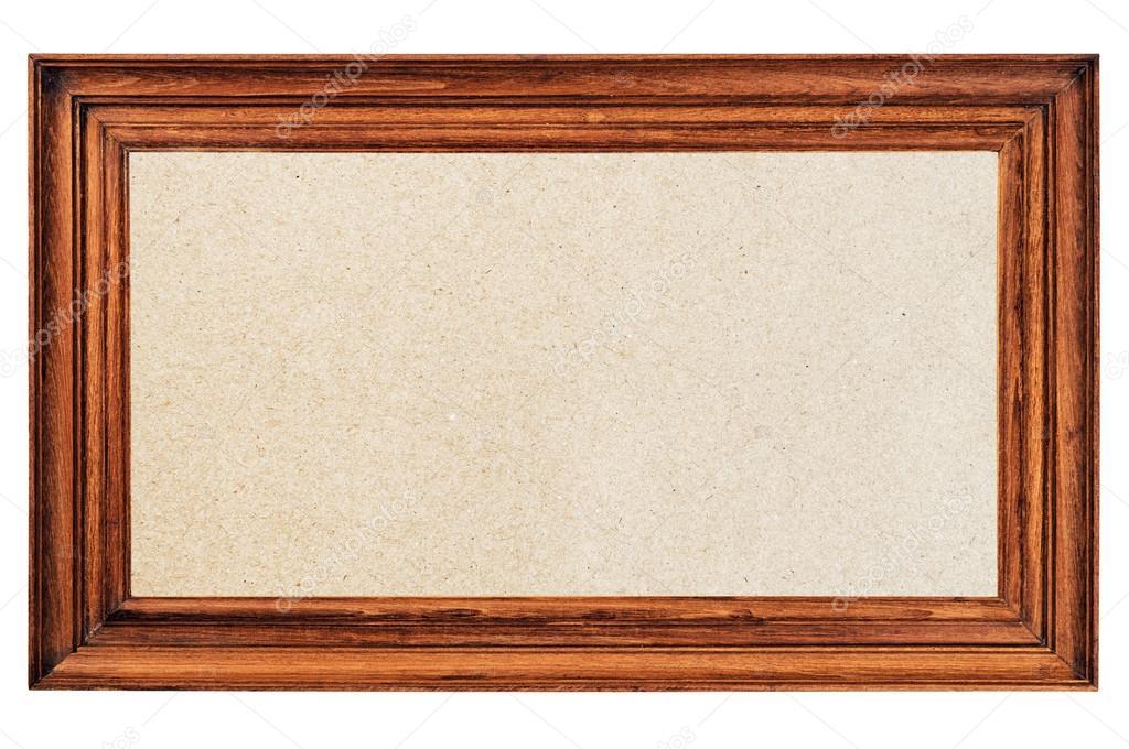 marco de fotos antiguas con soporte de papel — Foto de stock ...