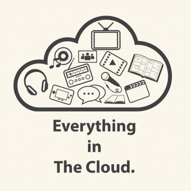 Everything in The Cloud.
