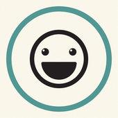 Photo Vector Smile Icon