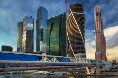Skyscrapers in Moscow, is a reality!