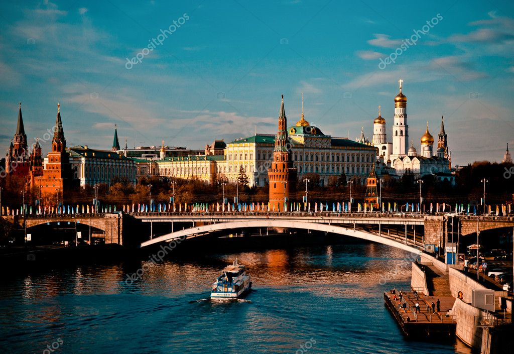 evening in Moscow