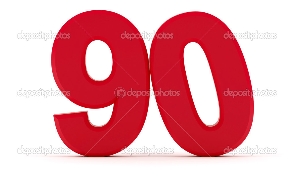 number 90 stock photo maziaragha 30229213