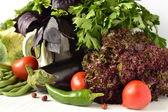 Friss zöldségek és fűszernövények